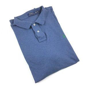 Polo Ralph Lauren Heather Blue Men's Polo Shirt